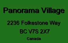 Panorama Village 2236 FOLKESTONE V7S 2X7
