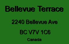 Bellevue Terrace 2240 BELLEVUE V7V 1C6
