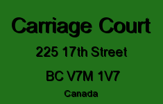 Carriage Court 225 17TH V7M 1V7