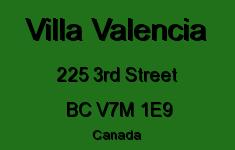 Villa Valencia 225 3RD V7M 1E9