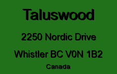 Taluswood 2250 NORDIC V0N 1B2