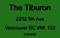 The Tiburon 2252 5TH V6K 1S3
