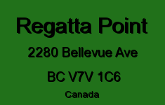 Regatta Point 2280 BELLEVUE V7V 1C6