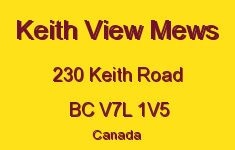 Keith View Mews 230 KEITH V7L 1V5