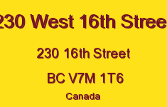 230 West 16th Street 230 16TH V7M 1T6