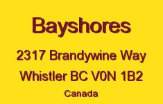 Bayshores 2317 BRANDYWINE V0N 1B2