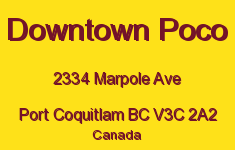 Downtown Poco 2334 MARPOLE V3C 2A2