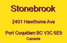 Stonebrook 2401 HAWTHORNE V3C 6E9