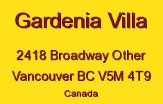 Gardenia Villa 2418 BROADWAY V5M 4T9