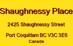 Shaughnessy Place 2425 SHAUGHNESSY V3C 3E6
