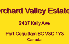 Orchard Valley Estates 2437 KELLY V3C 1Y3
