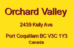 Orchard Valley 2439 KELLY V3C 1Y3