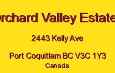 Orchard Valley Estates 2443 KELLY V3C 1Y3