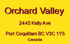 Orchard Valley 2445 KELLY V3C 1Y3