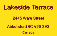 Lakeside Terrace 2445 WARE V2S 3E3