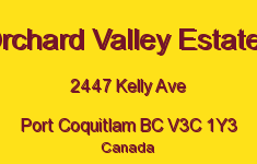 Orchard Valley Estates 2447 KELLY V3C 1Y3
