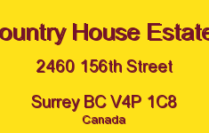 Country House Estates 2460 156TH V4P 1C8