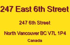 247 East 6th Street 247 6TH V7L 1P4