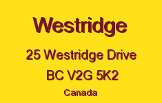 Westridge 25 WESTRIDGE V2G 5K2