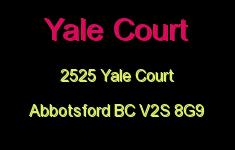 Yale Court 2525 YALE V2S 8G9