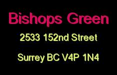 Bishops Green 2533 152ND V4P 1N4