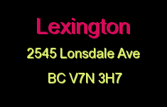 Lexington 2545 LONSDALE V7N 3H7