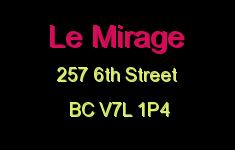 Le Mirage 257 6TH V7L 1P4