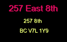 257 East 8th 257 8TH V7L 1Y9