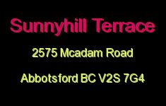 Sunnyhill Terrace 2575 MCADAM V2S 7G4