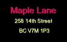 Maple Lane 258 14TH V7M 1P3