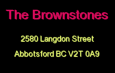 The Brownstones 2580 LANGDON V2T 0A9