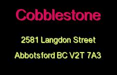 Cobblestone 2581 LANGDON V2T 7A3