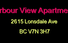 Harbour View Apartments 2615 LONSDALE V7N 3H7