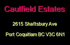 Caulfield Estates 2615 SHAFTSBURY V3C 6N1