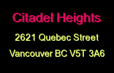 Citadel Heights 2621 QUEBEC V5T 3A6