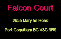 Falcon Court 2655 MARY HILL V3C 6R9
