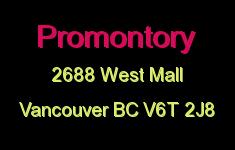 Promontory 2688 WEST V6T 2J8