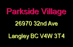 Parkside Village 26970 32ND V4W 3T4