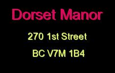 Dorset Manor 270 1ST V7M 1B4