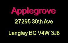 Applegrove 27295 30TH V4W 3J6