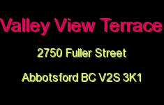 Valley View Terrace 2750 FULLER V2S 3K1