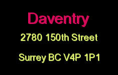 Daventry 2780 150TH V4P 1P1