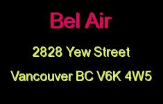 Bel Air 2828 YEW V6K 4W5