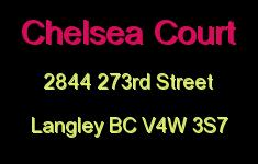 Chelsea Court 2844 273RD V4W 3S7