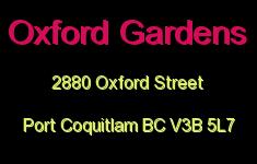 Oxford Gardens 2880 OXFORD V3B 5L7