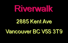 Riverwalk 2885 KENT V5S 3T9