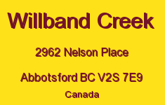 Willband Creek 2962 NELSON V2S 7E9