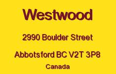 Westwood 2990 BOULDER V2T 3P8