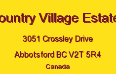 Country Village Estates 3051 CROSSLEY V2T 5R4