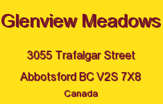 Glenview Meadows 3055 TRAFALGAR V2S 7X8